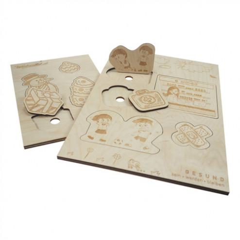 Kinder Holz-Puzzle