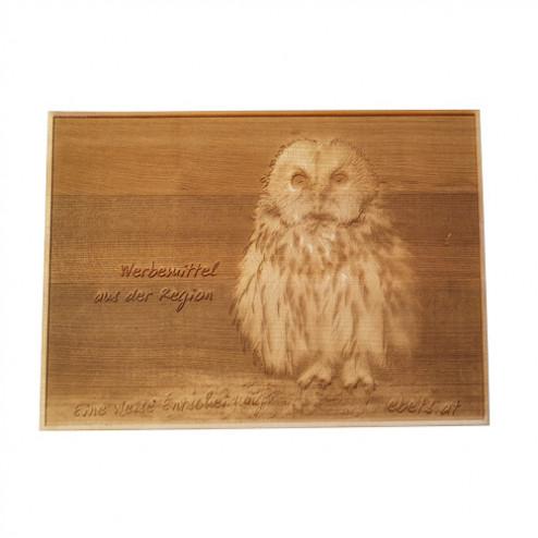 Holz Bild Relief Laser