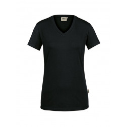 Damen V-Shirt stretch