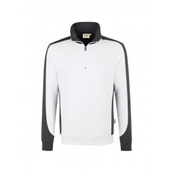 Zip-Sweatshirt Contrast Performance HAKRO