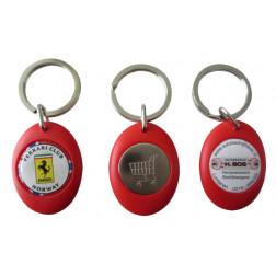 Kunststoff Schlüsselanhänger mit Doming