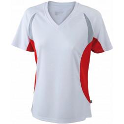 Damen V-Neck Laufshirt