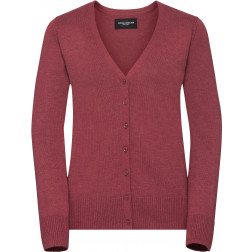 Damen V-Neck Strickjacke