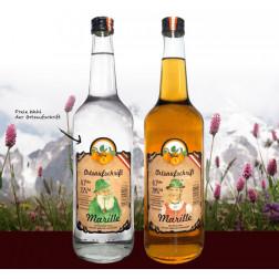 Alpen Serie Schnaps - Klarer Sepp - 200 ml