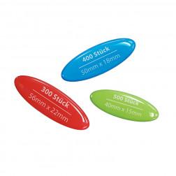 3D-Aufkleber Sparpaket oval