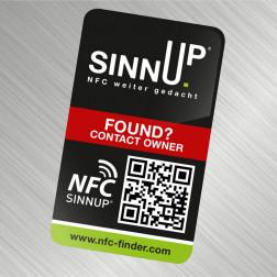 NFC-Finder Sticker für Metalloberflächen