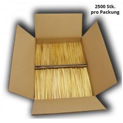 BIO Strohhalm - 2500 Stück-Packung