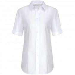 Damen Kurzarm-Bluse - Modern fit