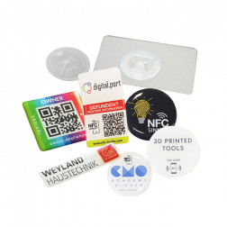 NFC Visdome® 3D-Aufkleber