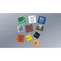 Individuelle NFC Aufkleber für Metalloberflächen