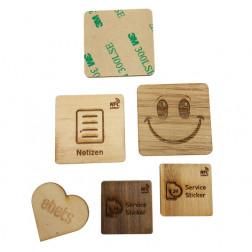 NFC Holzsticker
