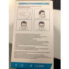 FFP2 Maske CE-zertifiziert Gebrauchsanweisung - werbemittel.at