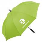 Regenschirm mit Licht und Logodruck - werbemittel.at