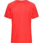 Herren Sports T-Shirt rot inkl. Druck - werbemittel.at