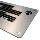 Typenschild Aluminium Detailansicht - Werbemittel