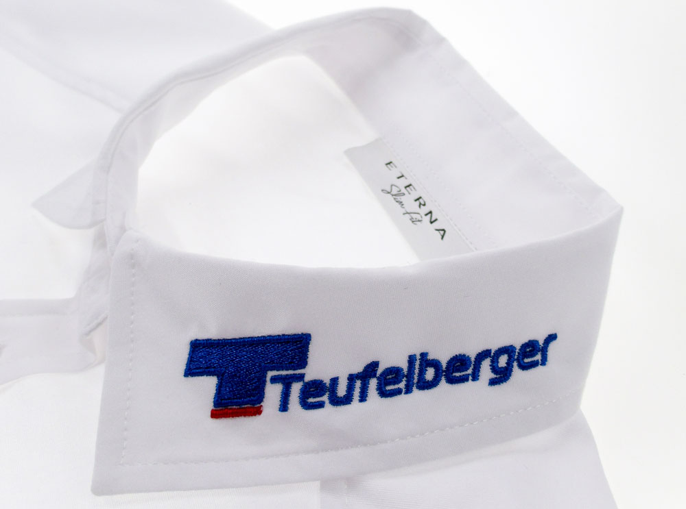 Eterna Hemden mit Logostick oder Namensbestickung
