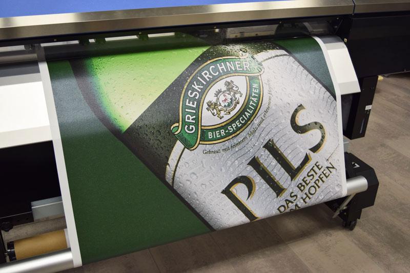 Digitaldruck von Bannern