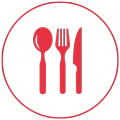 Nahrungsmittel und Tischkultur